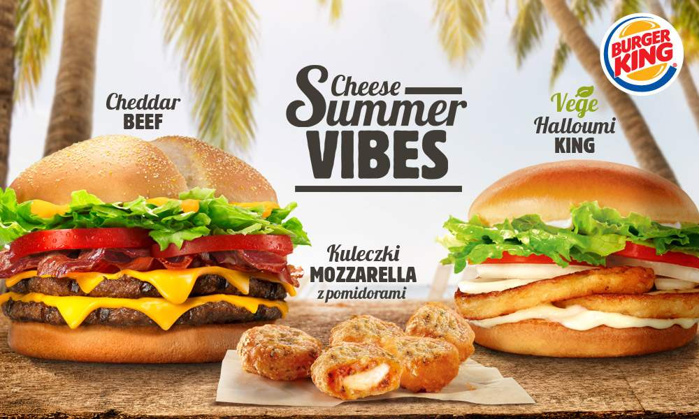 Burger King Cheese Summer Vibes